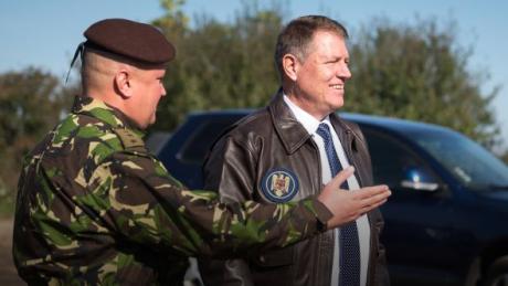 Klaus Iohannis, discurs în fața militarilor din Afganistan